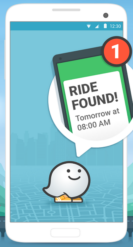 "Google-owned Waze launches ""RideWith"" carpooling app on"