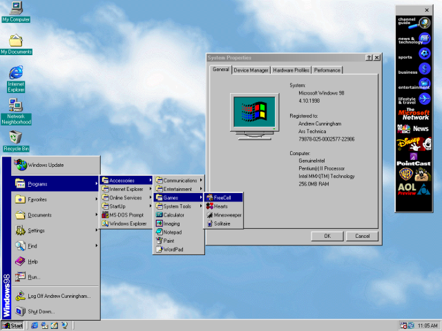 The Windows Start menu saga, from 1993 to today | Ars Technica