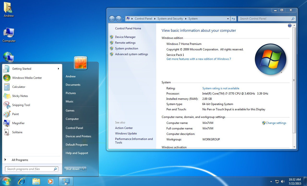 windows 7 lite best version