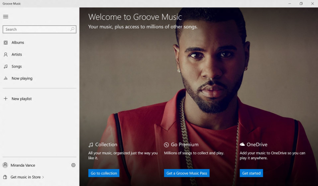 Groove or Groove Music? We can't really tell.
