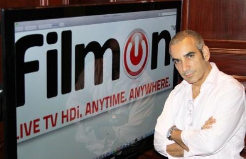 FilmOn founder Alki David in 2011.