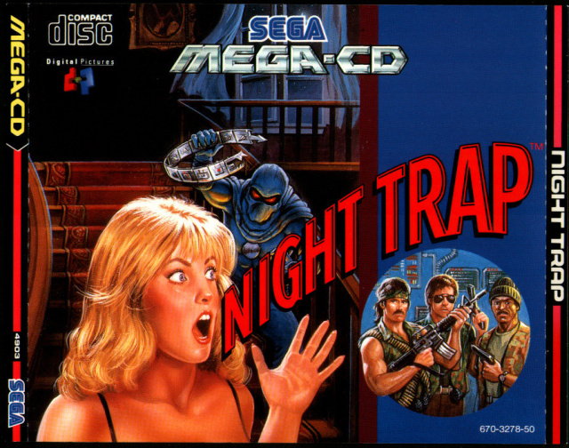Sega's '90s-tastic Night Trap being ported from Mega-CD and 32X to