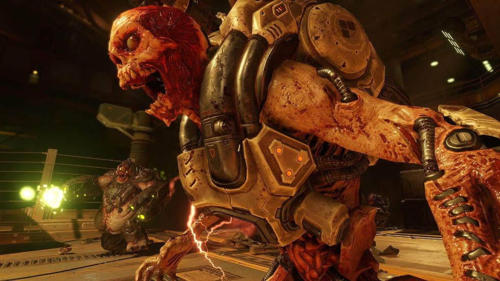 Hands-on with the new Doom: The detail of Doom 3, the speed of Doom 2
