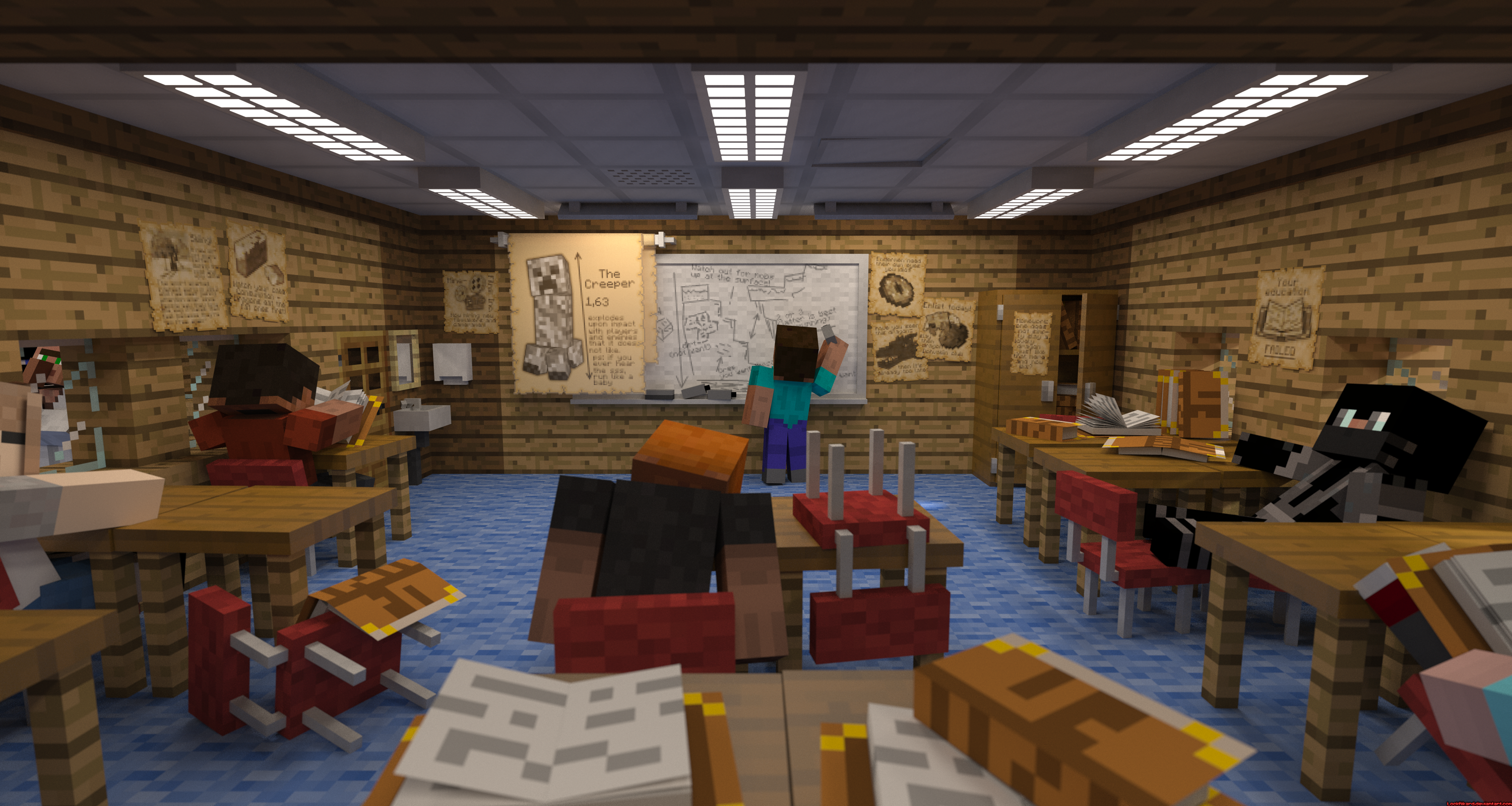 Microsoft pushes Minecraft into the classroom with new website | Ars Technica