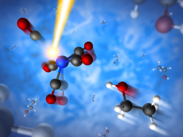 Are lasers the future of catalysis? Maybe if we get better at these kinds of experiments.
