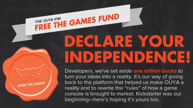 """Indie devs say Ouya still owes thousands in unpaid """"Free the Games Fund"""" earnings"""