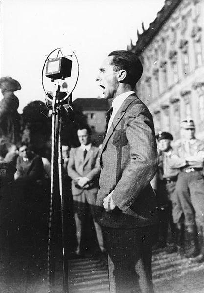 Joseph Goebbels in 1932.
