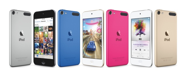 The new iPod Touch.