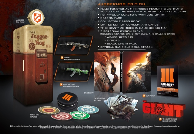 Chill out: Black Ops III special edition comes with a mini-fridge [Updated]