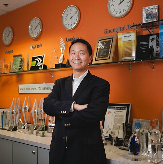 Newegg's former Chief Legal Officer Lee Cheng.