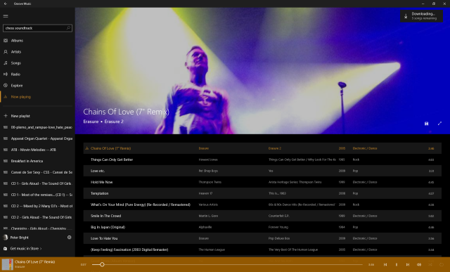 Windows 10's weirdly disjointed music, video, and store apps