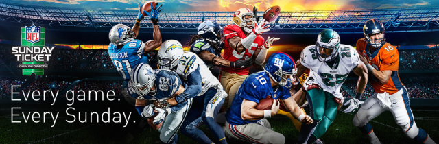 NFL's exclusive deal with DirecTV is illegal monopoly, lawsuit claims