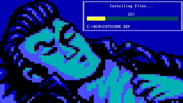 How (and why) one man squeezed a modern console game onto MS-DOS