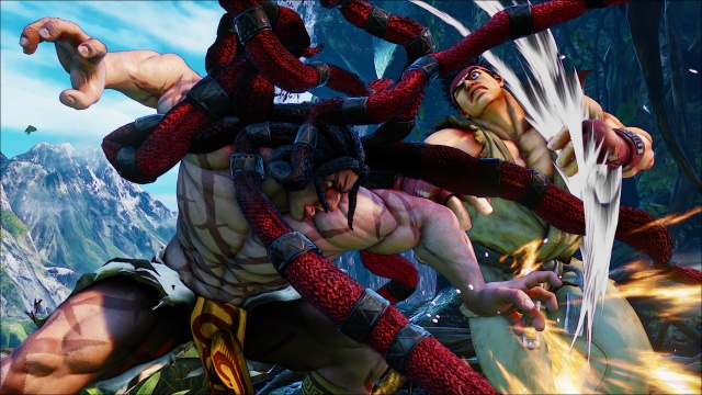 Street Fighter V will have free content updates, free-ish DLC characters