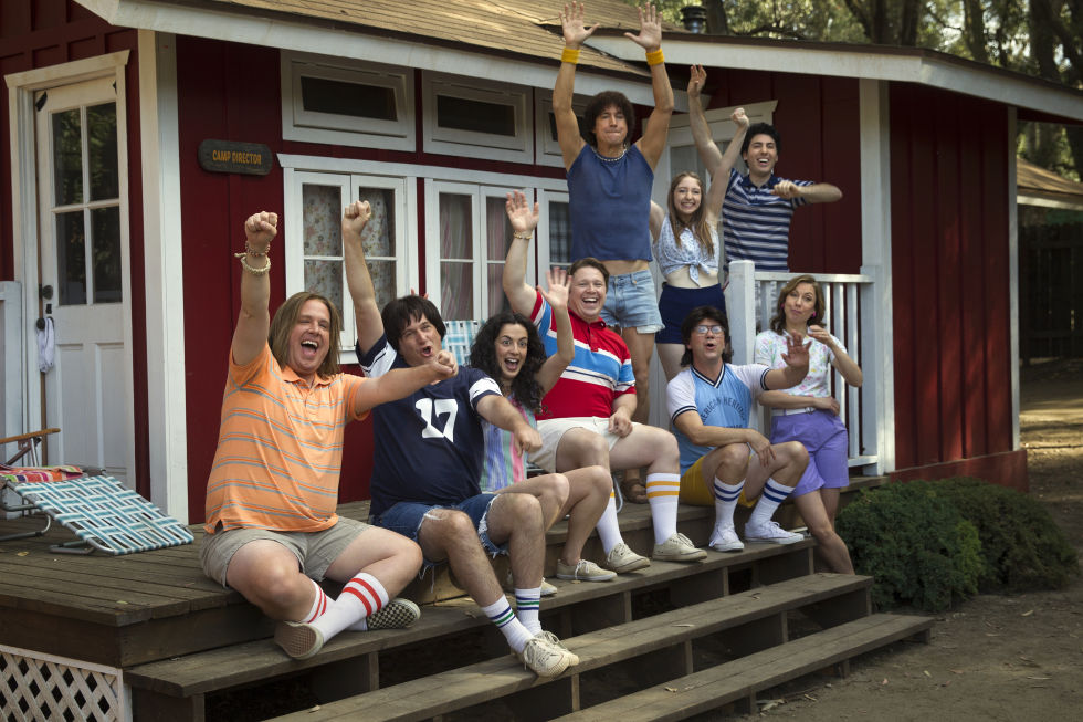 The cast of <em>Wet Hot American Summer: First Day At Camp</em> probably has an average age of 43. What better age to play a camp counselor?
