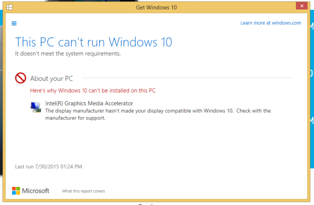This error message might halt your free Windows 10 upgrade in its tracks, though we've been able to get around it.