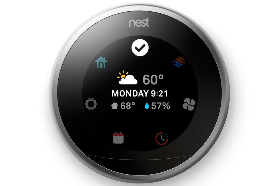 3rd generation nest learning thermostat arrives for 249. Black Bedroom Furniture Sets. Home Design Ideas