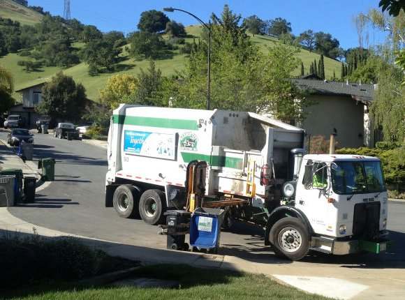 Forget license plate readers on police cars, how about on garbage trucks?
