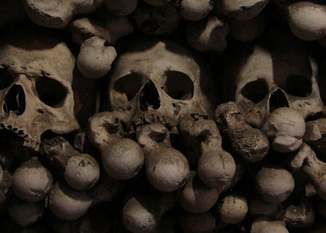 Neolithic mass grave is the first known example of human torture, mutilation