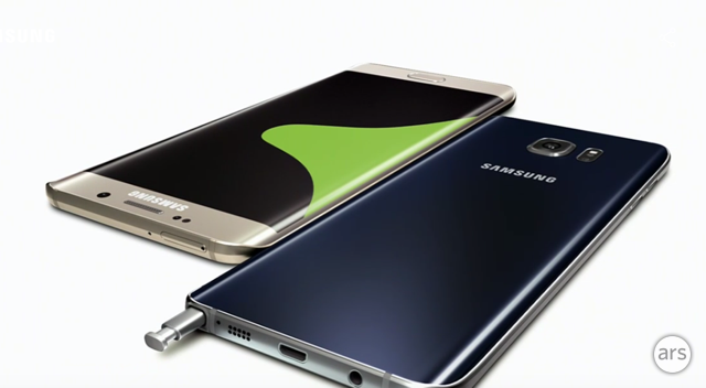 Samsung announces the Galaxy Note 5 and Galaxy S6 Edge+