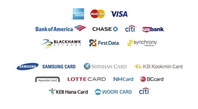 Current list of Samsung Pay partners.