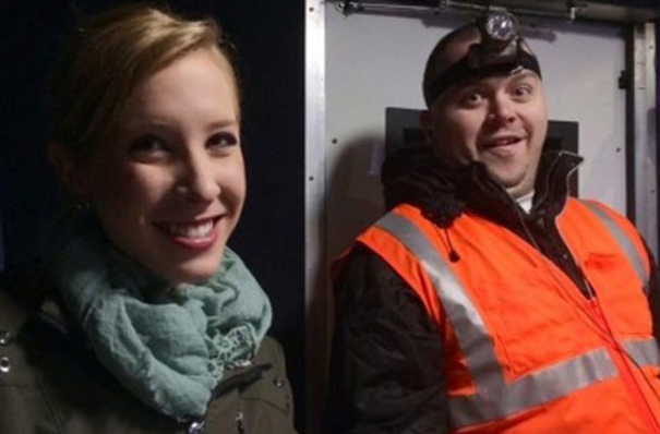 Murdered journalists Alison Parker and Adam Ward.