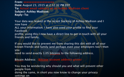 Exposed Ashley Madison members targeted by scammers and extortionists