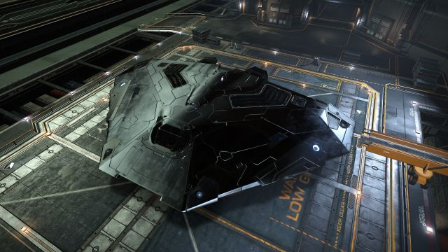 The venerable Cobra Mk. III sits at dock. A new Mk. IV variant will soon be available.