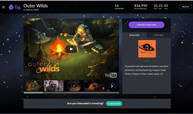<i>Outer Wilds</i> only allows for true investment from accredited investors, but future projects will let everyday gamers share in revenues.