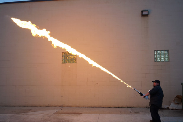 Facing possible ban, more Americans are buying new—and legal—$900 flamethrowers