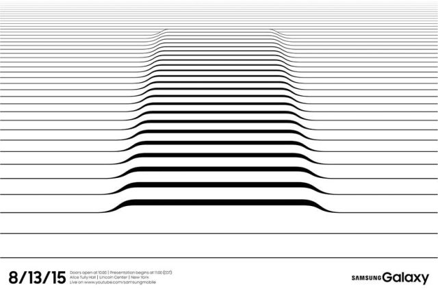 Samsung's invitation teases us with... some line art?