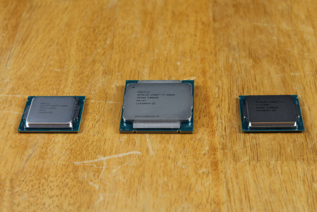 Recent Intel chip family