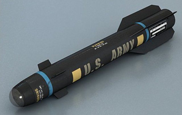 Have you seen a missile that looks like this? The Army wants it back.