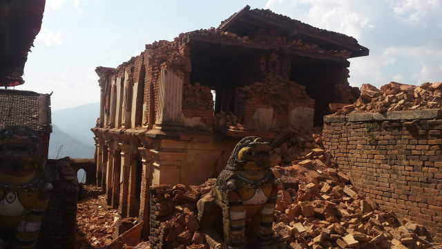Piecing together April's deadly earthquake in Nepal