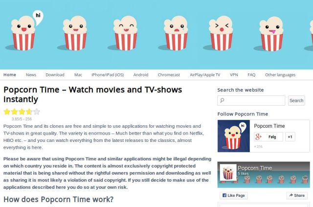 Two Danes face up to six years in jail for explaining how to use Popcorn Time