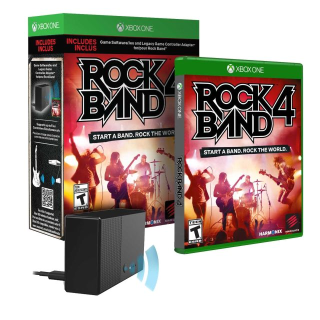 The $80 package that lets players use their old Xbox 360 instruments on the Xbox One version of <i>Rock Band 4</i>.