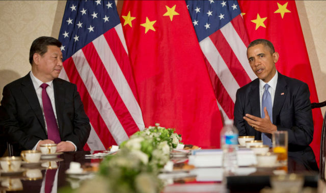Obama will greet chinese president with handshake not cyber us president barack obama meeting with chinese president xi jinping in march 2014 the obama administration has put a hold on sanctions over chinese hacking m4hsunfo Image collections