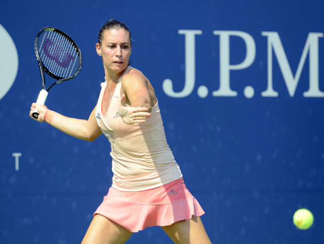Flavia Pennetta, as seen during the 2014 US Open.