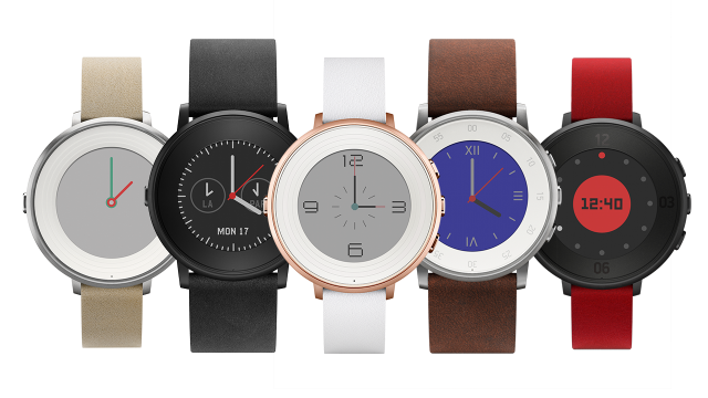 Pebble goes circular with ultra-thin Time Round smartwatch