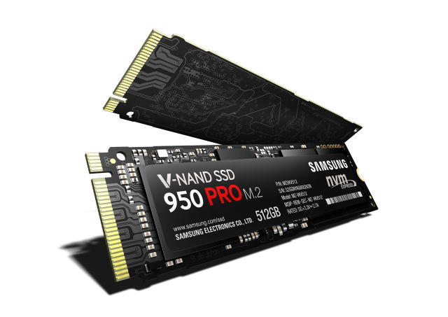Samsung's 950 Pro M.2 SSD pairs NVMe with V-NAND for eye-popping performance