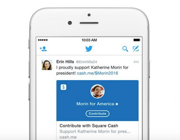 Twitter loves politicians, enables political donations via tweets