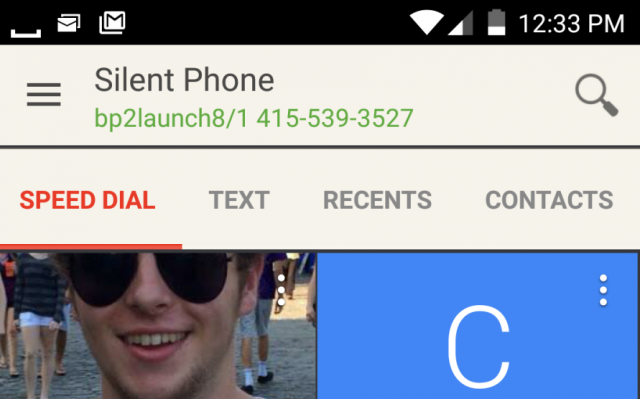 The Silent Phone app from Silent Circle is encrypted end-to-end, so there's really no call for a canary.