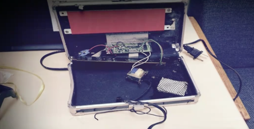 Teen's digital clock that led to his arrest at high school.