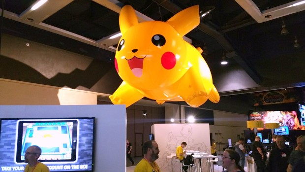 Official Pokémon booth at PAX Prime.