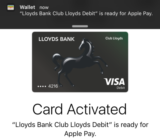 Apple Pay now supports cards from Lloyds and Halifax banks in the UK