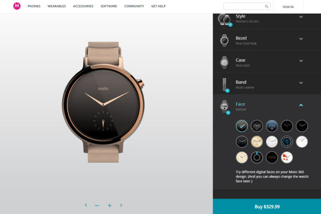 The gen-two Moto 360—a beautiful, compact design without much new