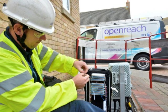 "BT Openreach boss says ""we don't lack ambition,"" tight-lipped on breakup fight"