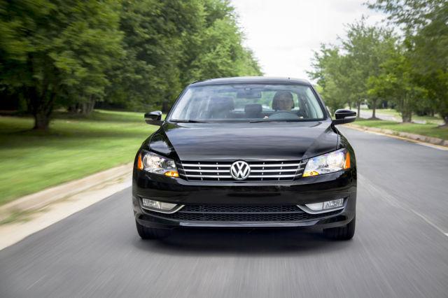 A 2014 Volkswagen Passat