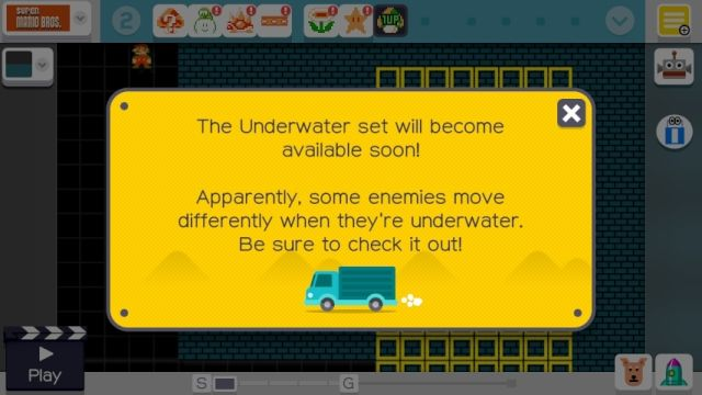 Expect to see this message much more quickly now that Nintendo has patched <i>Super Mario Maker</i>.
