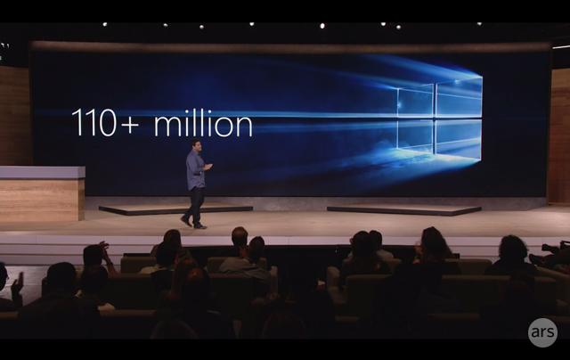 Microsoft announces 110 million Windows 10 installs since launch